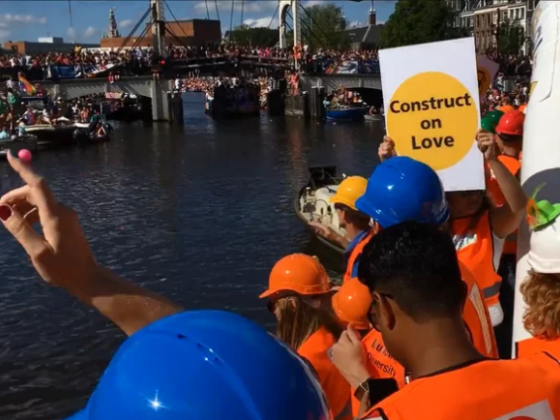 BAM participates at the National EuroPride Canal Parade